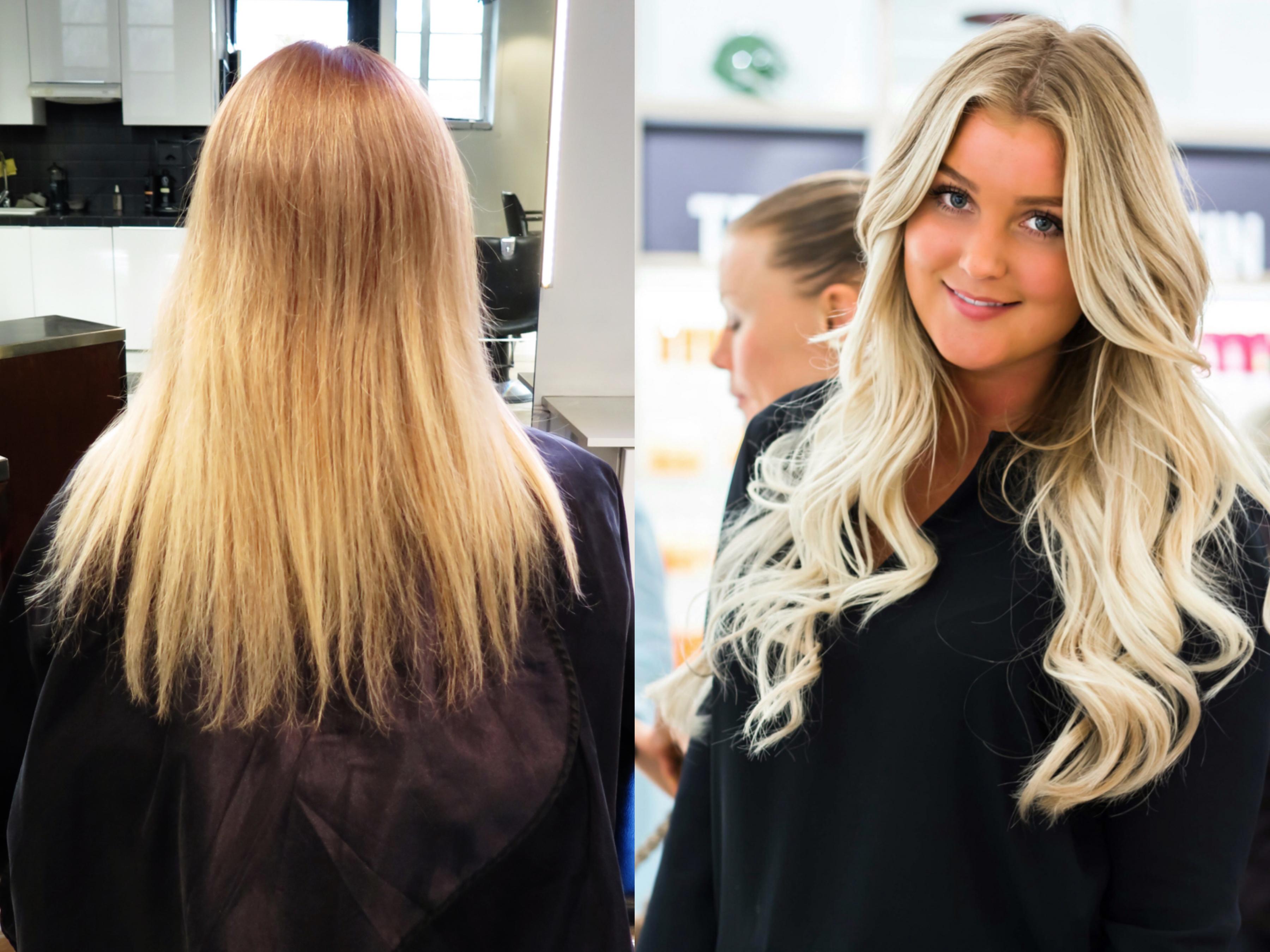 frisyrer tjejer långt hår
