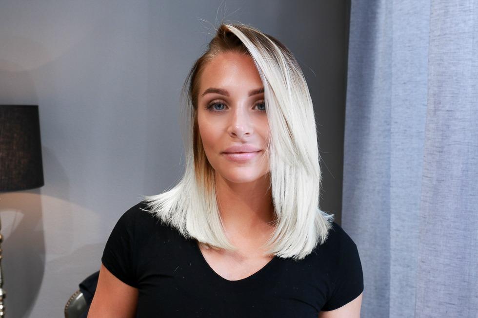 snygga blonda frisyrer