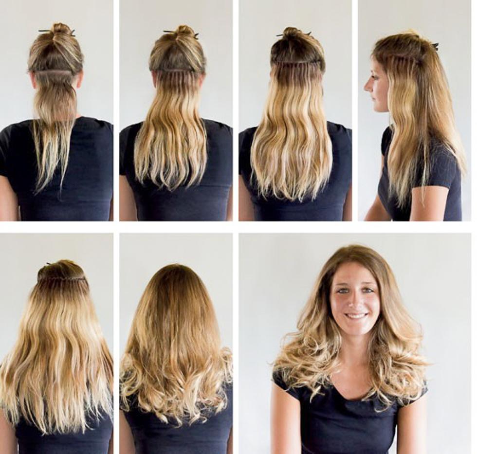 mandelolje hår