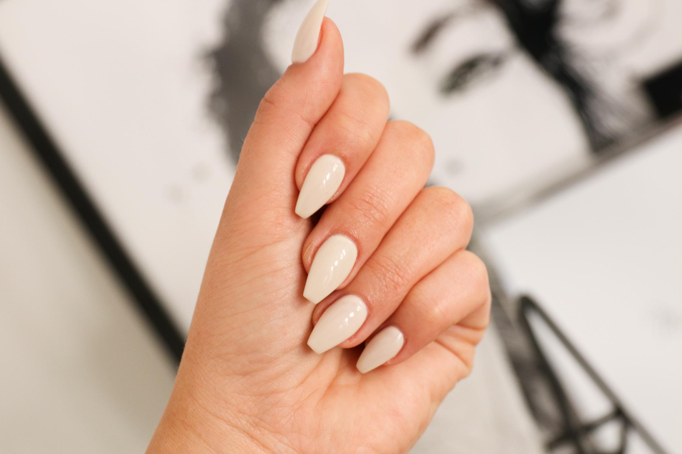 form på naglar