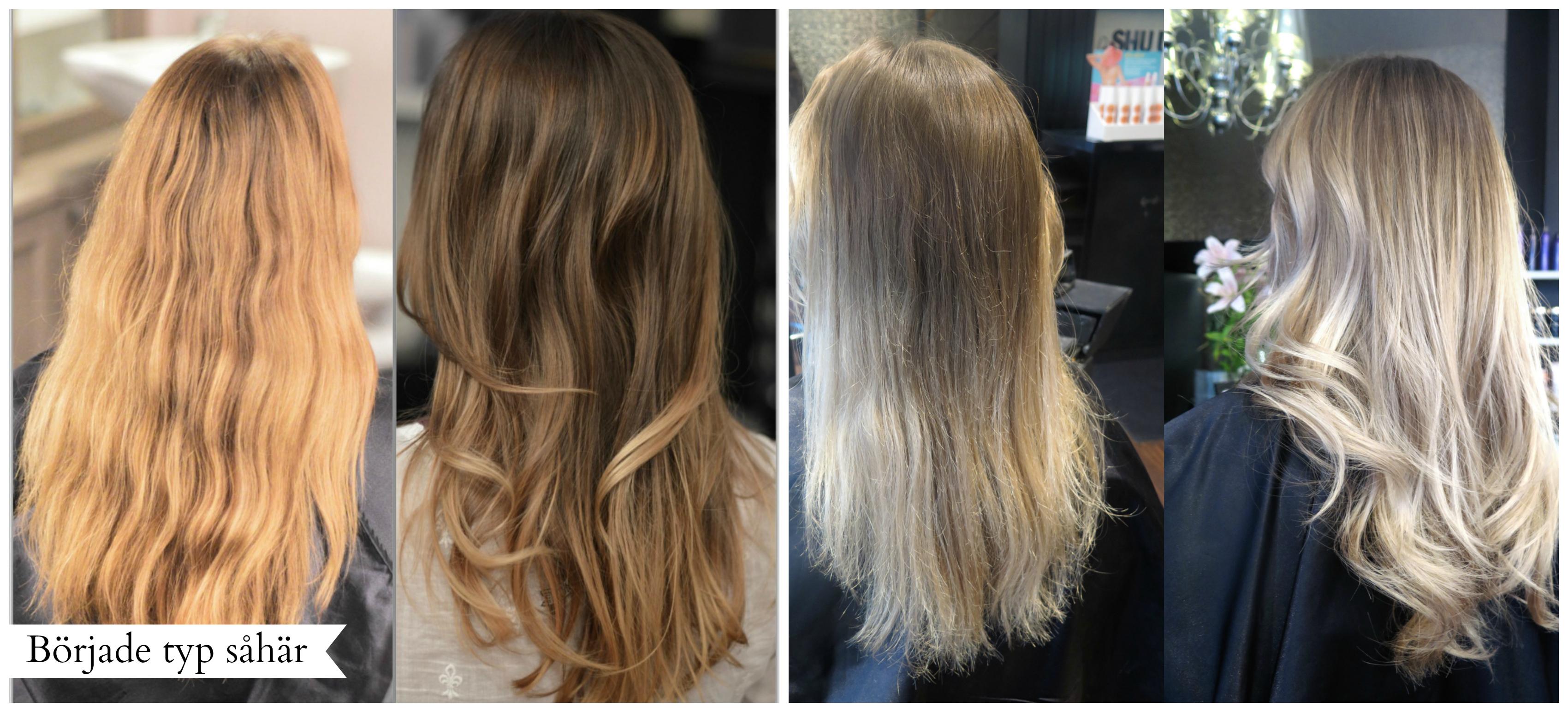 färga ombre hos frisör