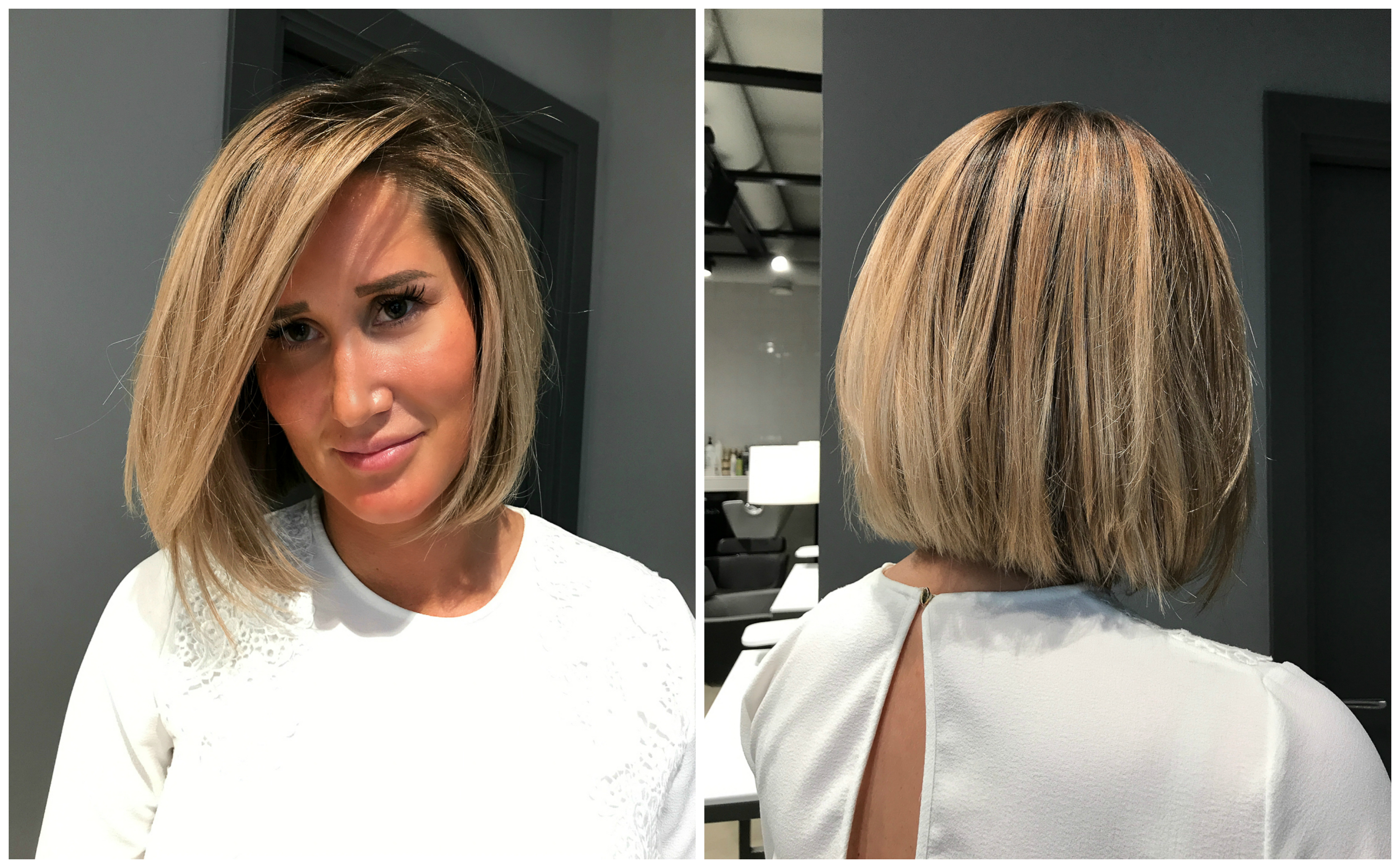 frisyrer mellan kort hår