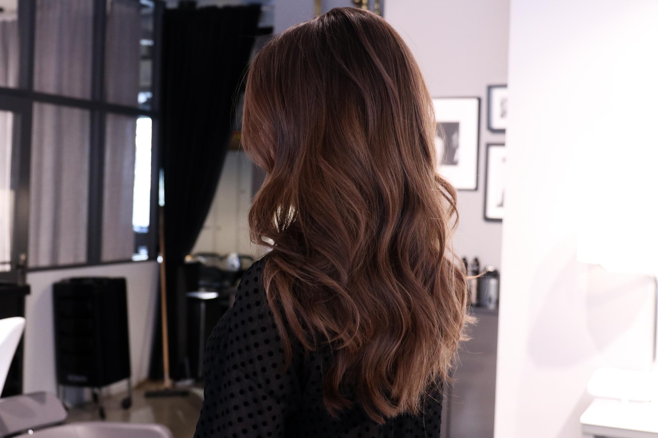 hårvård långt hår