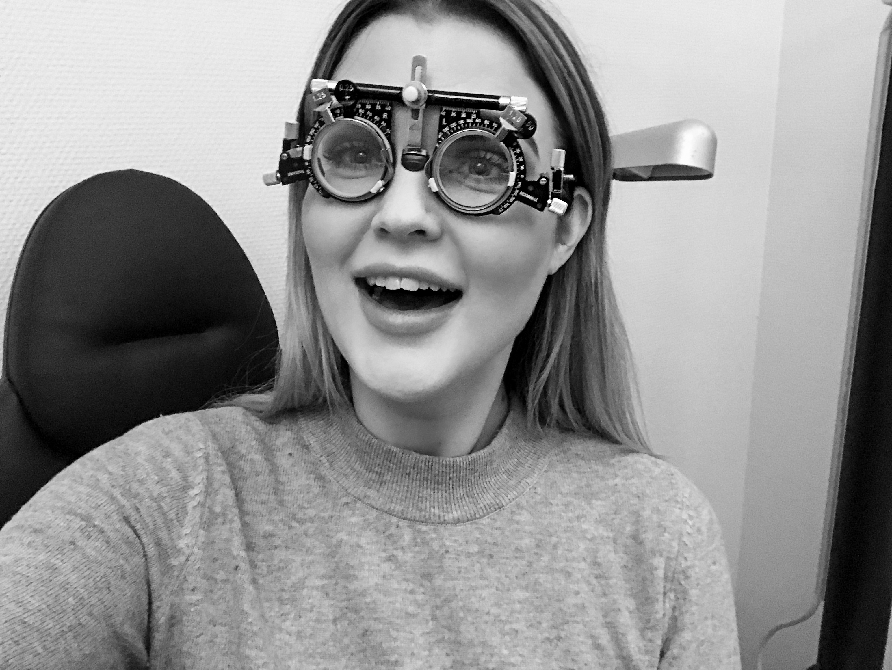 Att jag skulle behöva ha glasögon linser är inte värsta grejen 0ea53c0e16ba7