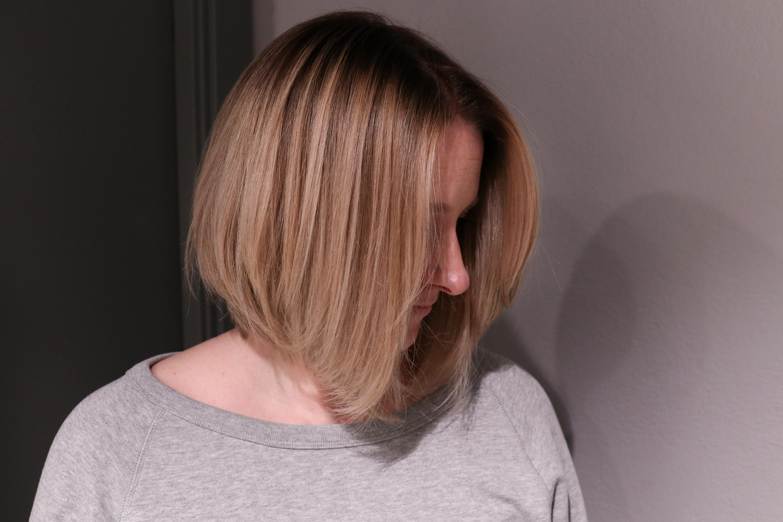 varmluftsborste kort hår