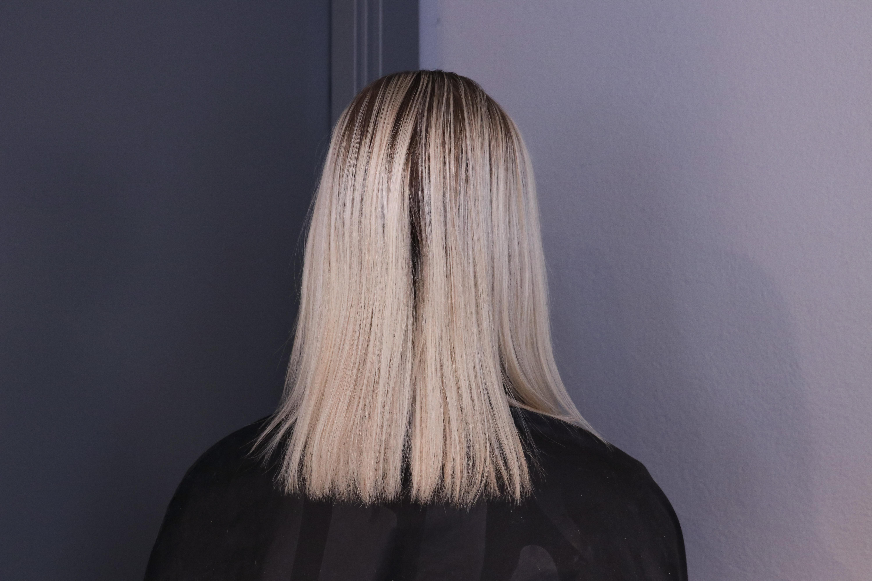 tunt och fint hår