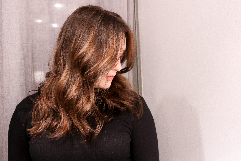 ljusbrunt hår färga hemma