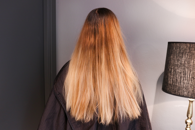 neutralisera orange hår